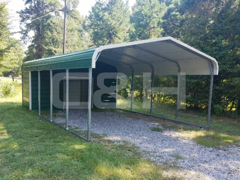 REGULAR CARPORT 12W x 26L x 6H