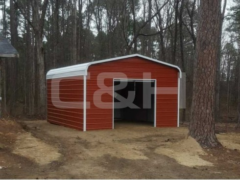 REGULAR GARAGE 18W x 21L x 9H