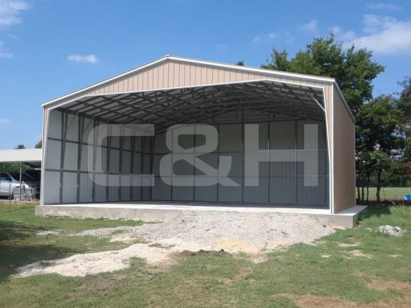 CLEAR SPAN COMMERCIAL SHELTER 40W x 41L x 12H