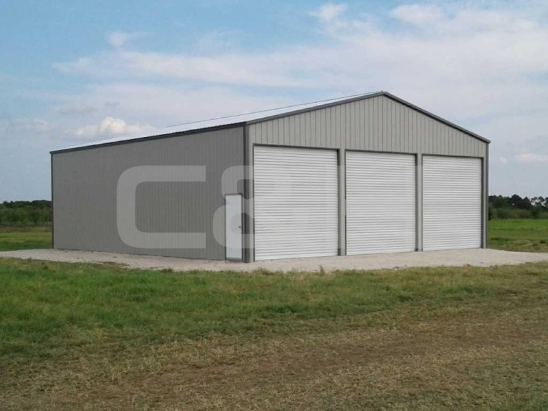 CLEAR SPAN COMMERCIAL BUILDING 36W x 36L x 12H